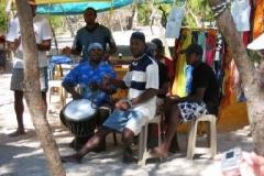 Mauritianer, beim Sega, der Landestypischen Musik